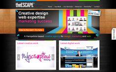 The Escape, January 2010 Creative Design, January, Success, Marketing, Digital