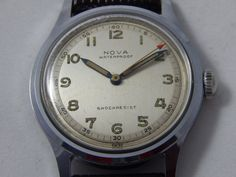 Vintage Nova Swiss Wrist Watch by AlwaysPlanBVintage on Etsy
