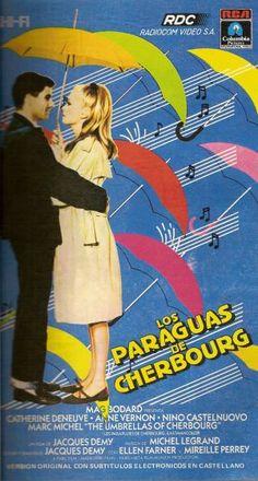 Poster for 'les parapluies de Cherbourg', 1964 - Argentinian version