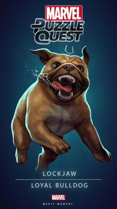 Lockjaw (Loyal Bulldog) | 4 Stars | Marvel PUZZLE QUEST