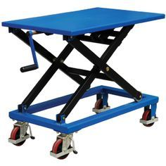 Screw Type Lift Table Cart Without Oil Leakage Risk on Made-in-China.com
