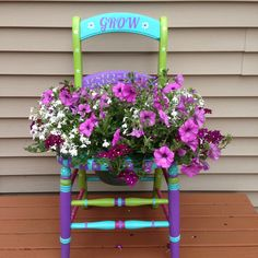 Common Garden Pests to Watch For Porch Chairs, Garden Chairs, Container Plants, Container Gardening, Succulent Containers, Chair Planter, Painted Chairs, Indoor Garden, Garden Fun