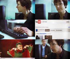 Win.  Sherlock googles John Watson