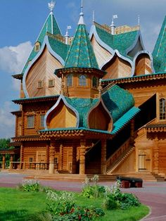 Kolomenskoïe, the ancient summer residence of the Princes of Moscow and the Tsars of Russia.