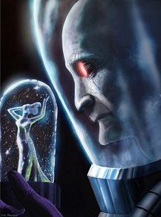 Tragic Art for Batman Villain Mr. Freeze