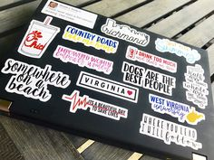Stickers make the perfect gift. Available in 4 sizes and easily removable stickers are ready for some serious stickering. Mac Stickers, Cute Laptop Stickers, Macbook Stickers, Tumblr Stickers, Macbook Decal, Laptop Screen Repair, Laptops For Sale, Macbook Case, Laptop Case