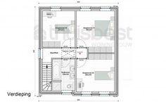 Realisatie | Thuis Best woningbouw |BEN woning Klassiek type A - verdieping.  Eigen woning bouwen? www.thuisbest.be
