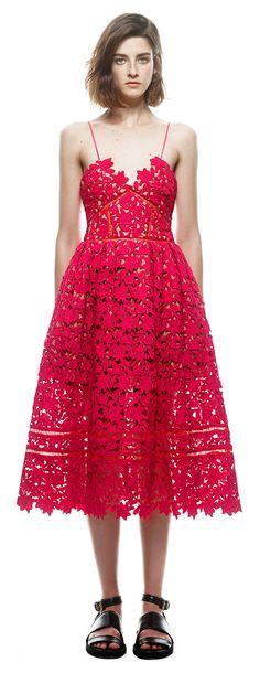 Azaelea Dress in Red