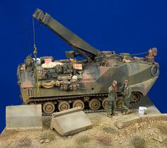 US AAVR7A1 Armored Recovery Vehicle