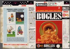 General Mills - Bugles - Tomi Ungerer poster offer - snack box - 1968 by JasonLiebig, via Flickr