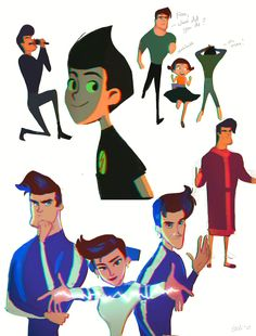 Drawing Cartoon Characters, Cartoon Drawings, Cartoon Cartoon, Disney Crossovers, Cartoon Crossovers, Character Design Animation, Character Drawing, Meet The Robinsons Characters, Disney And Dreamworks