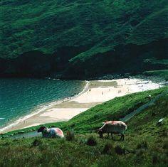 Keem strand, achill island, Ireland