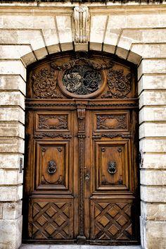 One of my favorite doors in Avignon, France