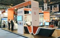 Idexx Laboratories Exhibition Stand provided by Nimlok Ltd