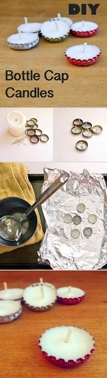 diy candles ~ Only Deco