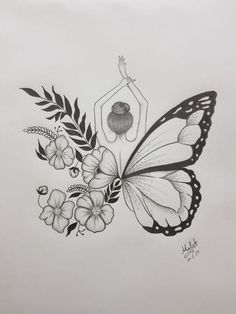 : minus man really love this butterfly tattoo human love ., : minus man really love this butterfly tattoo human love . Diana Herzog Mensch : minus man really love this butterfly tattoo human love . Pencil Sketch Drawing, Pencil Art Drawings, Sketch Art, Drawing Base, Sketch Painting, Flower Art Drawing, Pencil Drawings Of Flowers, Creative Pencil Drawings, Creative Sketches