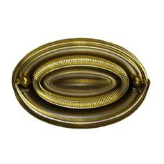 Antique Hepplewhite Pulls - Oval