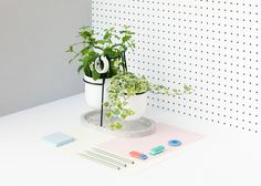 + work space styling +