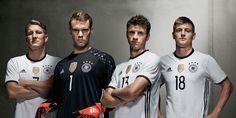 Germany Euro 2016 Home Kit Released - Footy Headlines