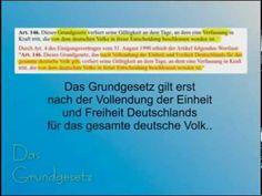 Grundgesetz - Galt bis zur Streichung des Art. 23 Geltungsbereich und der Präambel am 17.07.1990