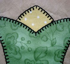 Blanket stitch points - great site for machine embroidery