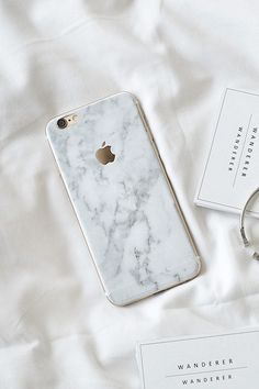 White Marble Skin For iPhone , Apartment - Wanderer Wanderer, Wanderer Wanderer - 1