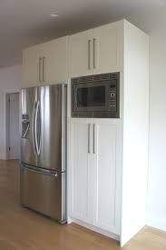 Image Result For Pantry Cabinet With Built In Microwave Pantry