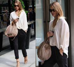 Loving Rosie Huntington-Whiteley street style