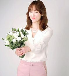 Seo Hyun Jin, Korean Actresses, Pretty, Flowers, Florals, Flower, Bloemen