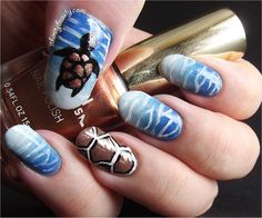 Ithinity Beauty - Nail Art Blog: Turtle Bay ~ Water Nails And ...