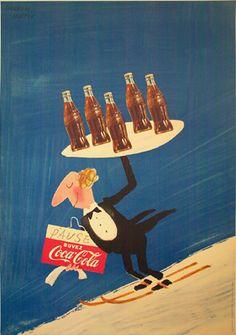 Herbert Leupin Coca-Cola Waiter by Galerie Montmartre, via Flickr