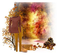 """""""An Autumn Walk"""" by sapphire0205 ❤ liked on Polyvore featuring art"""