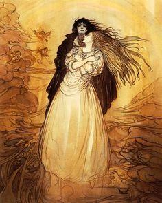 Yoshitaka Amano - Cover of Sandman: The Dream Hunters, written by Neil Gaiman