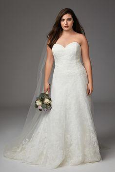 f0db1188660 7 Best Plus Size Wedding Dresses images