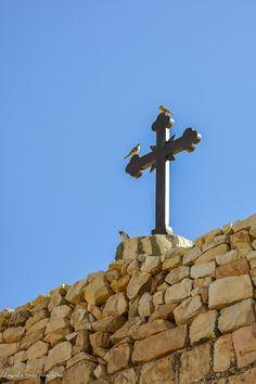 Israel_Manastirea Sfantul Sava Cn Tower, Israel, Religion, World, Building, The World, Buildings, Earth