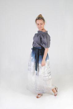 45326843ce47 feel light. feel linen by feellinen · Linen BlouseLinen DressesOff The  ShoulderSummer ...