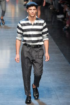 Dolce & Gabbana Spring 2013 Menswear Collection Slideshow on Style.com