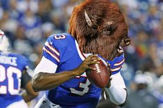 Buffalo Bills | What If NFL Teams Took Their Nicknames Literally: A Photoshop Investigation