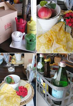 Great ideas for a backyard party or BBQ!