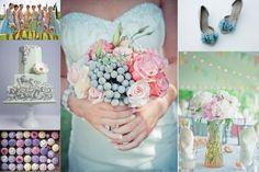 Pastel Colored Wedding