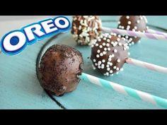 Bolitas de galletas Oreo + Cake Pops de Oreo (receta fácil sin horno) - YouTube