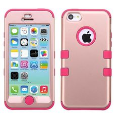 MYBAT TUFF Hybrid Case for iPhone 5C - Rose Gold/Pink #Iphone5c