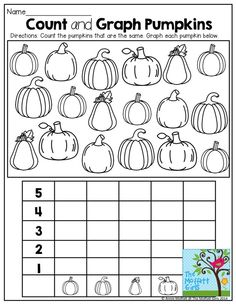 math worksheet : worksheets pumpkins and learning on pinterest : Pumpkin Math Worksheets Kindergarten