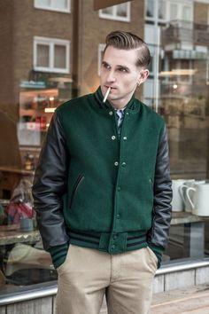 Harry Stedman x Golden Bear 2013 Fall/Winter Varsity Jackets