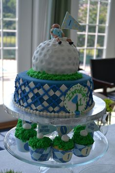 Golf Themed Cakes on Pinterest  Golf Cakes, Golf Birthday Cakes and ...