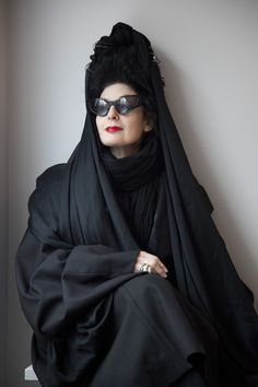 Diane Pernet - Fashion Icon, Critic and Film Festival Founder - EasttoEast