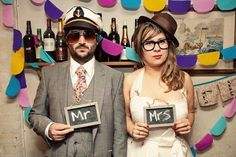 Most Hipster Couple Ever Wedding