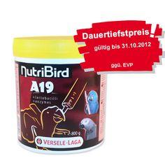 NutriBird A19 | Dose 800g  Handaufzuchtsfutter für Papageienküken