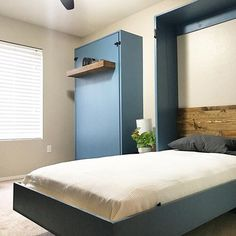 Do It Yourself Furniture, Diy Furniture Plans, Upcycled Furniture, Ikea Furniture, Furniture Design, Twin Size Murphy Bed, Murphy Bed Plans, Diy Murphy Bed, Murphy Bed Frame