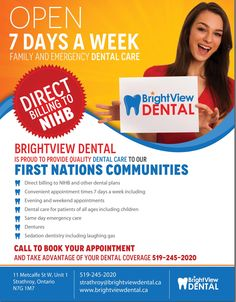 Direct billing to insurance at BrightView dental